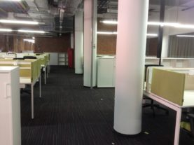 уборка офиса после ремонта на Пресне