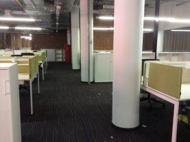 уборка зоны офиса после ремонта